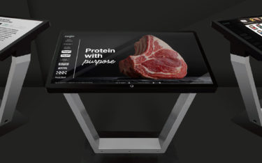 Cargill Trade Show Digital Meat Case