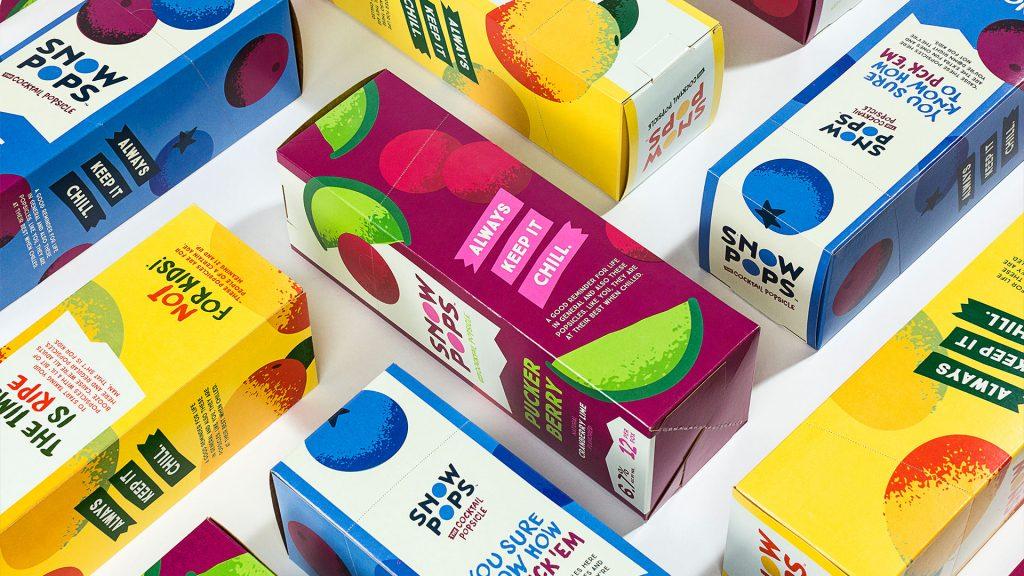 SnowPops Packaging