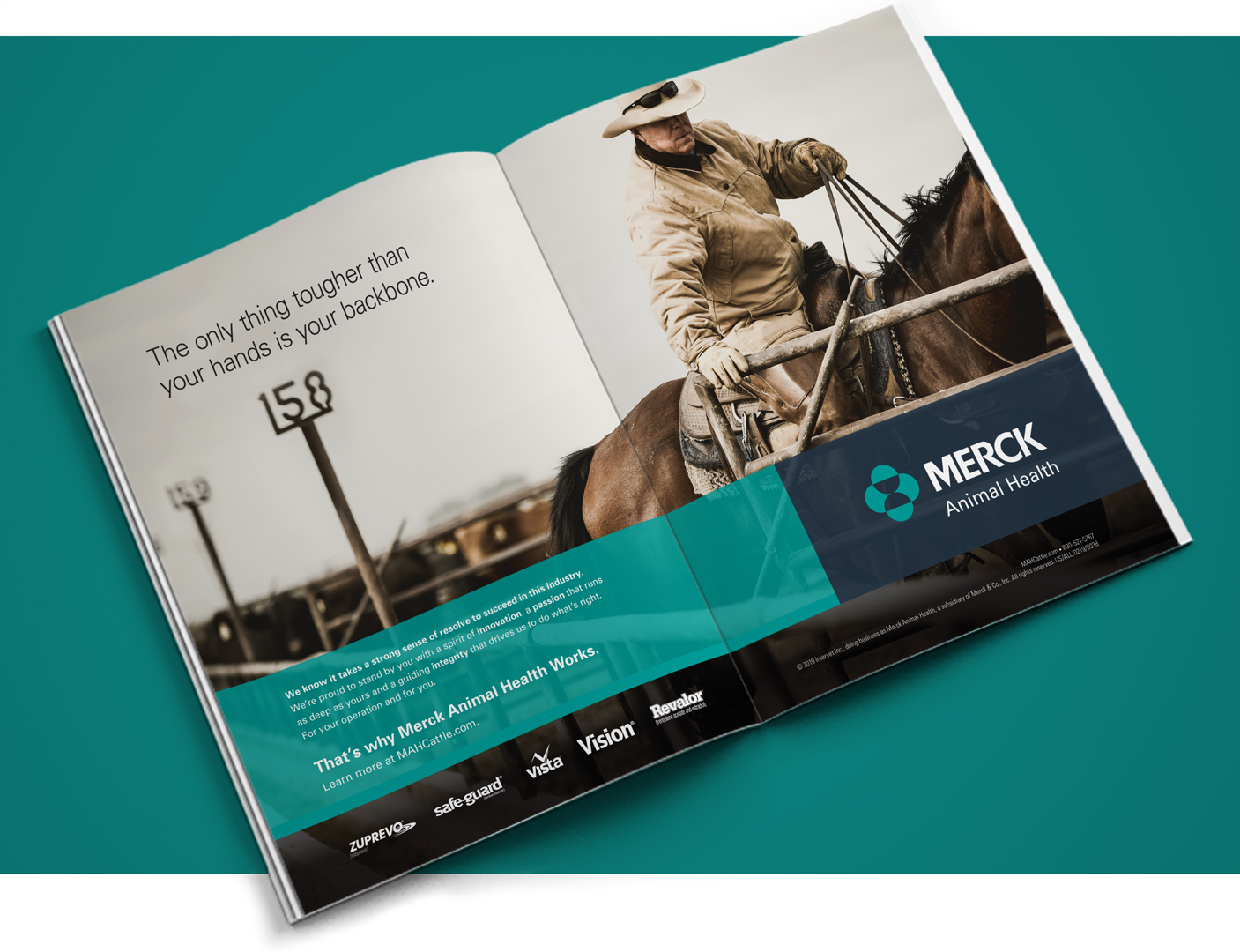 Merck Animal Health Works Backbone Ad