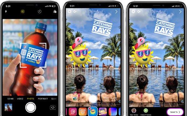 Pepsi Filter Example