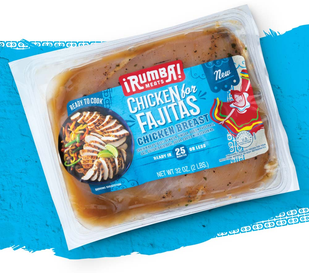 Example of Rumba Meats Packaging