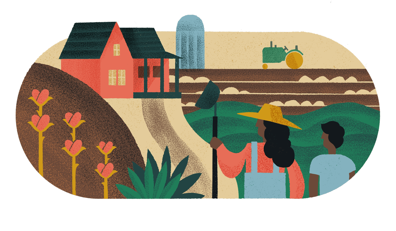 Family Collage Illustration