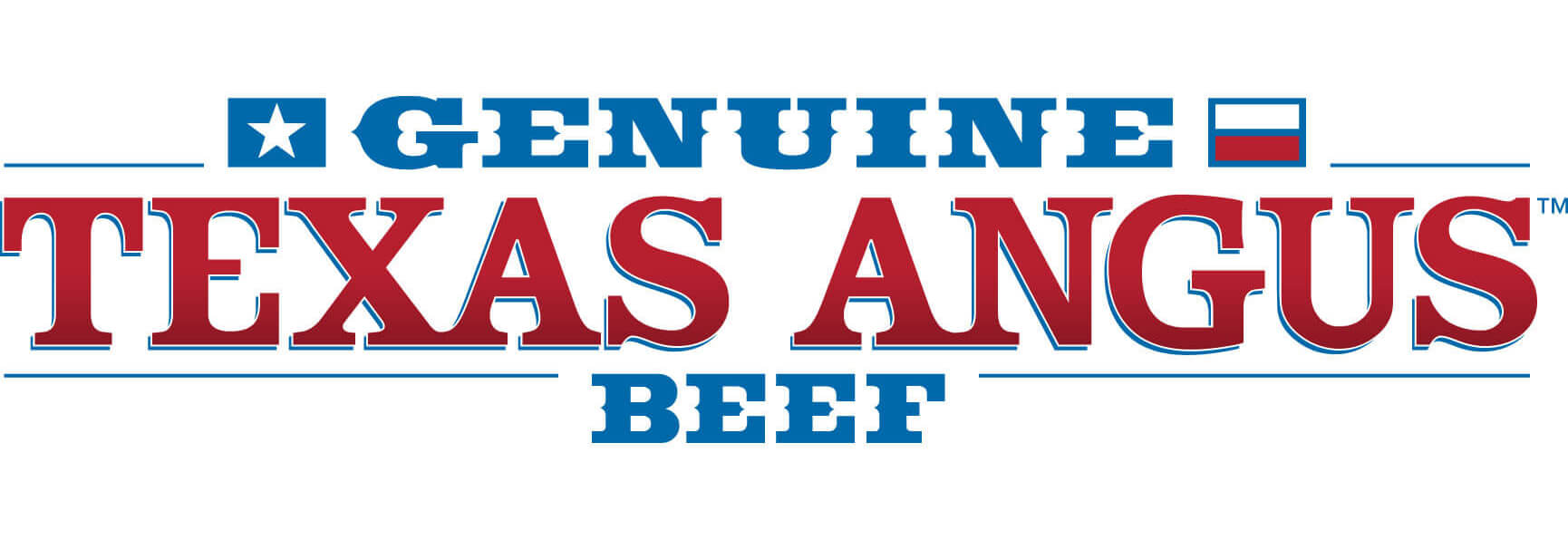 Genuine Texas Angus Beef logo