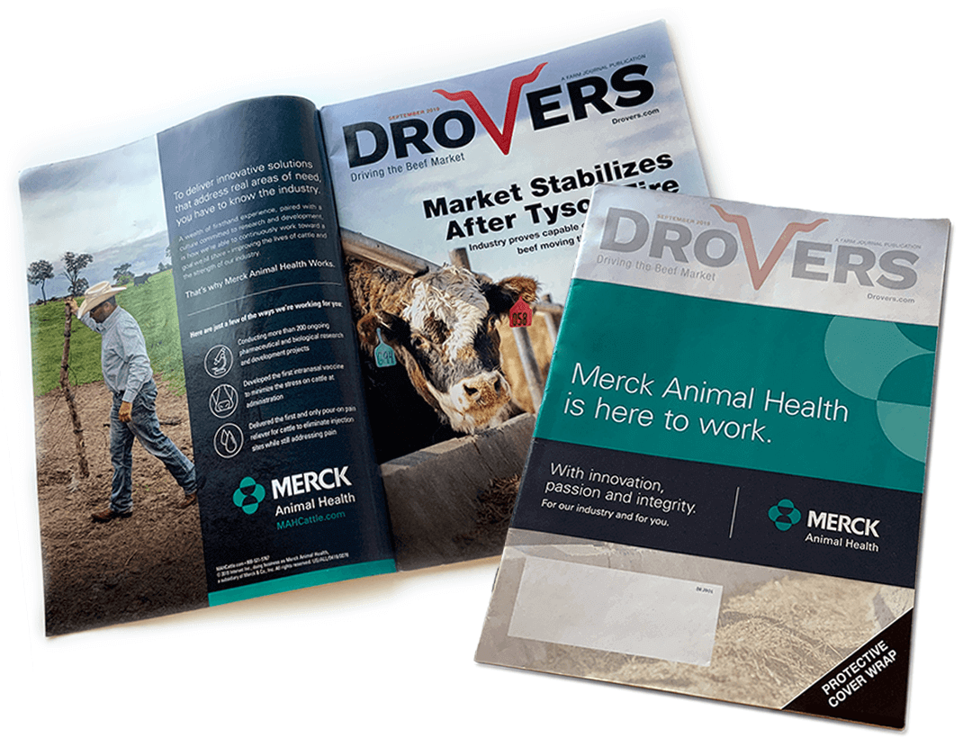Merck Works Branded Drovers Coverwrap