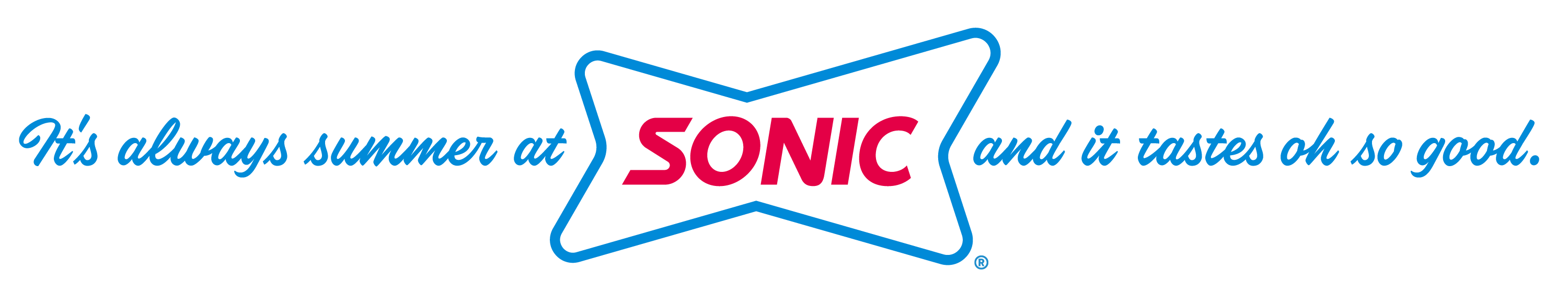 Sonic Drive-In Summer Cup Design Packaging Logo
